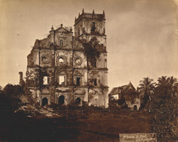 St Augustine's, now in ruins [Goa].